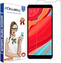CELLBELL Tempered Glass Screen Protector for Xiaomi Redmi Y2(Transparent)[Pack of 2]