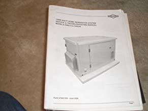 Service & Troubleshooting Guide for Home Generator System Models 040213 & 040234