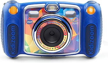 VTech Kidizoom Duo Selfie Camera, Amazon Exclusive, Blue, Great Gift for Kids, Toddlers,..