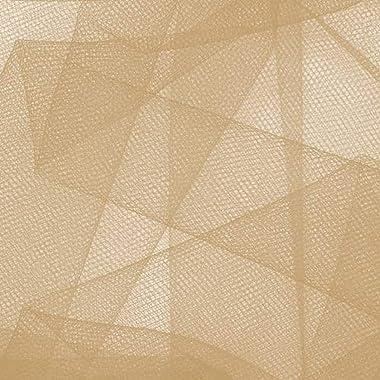 Falk Fabrics 54'' Apparel Grade Tulle, Yard, Beige