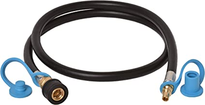 Flame King RV, Van, Trailer, Dual Quick Connect Hose, LP Gas Only, 72 Inch, 1/4 Inch ID - 100395-72