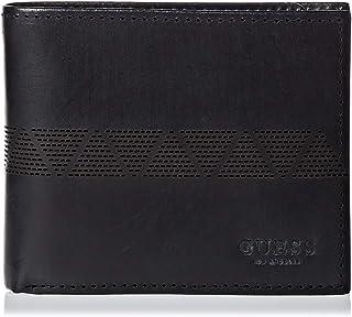 GUESS MEN'S WALLET 31GUE13121 BLA Global Wallet W/, ONE SIZE,Black