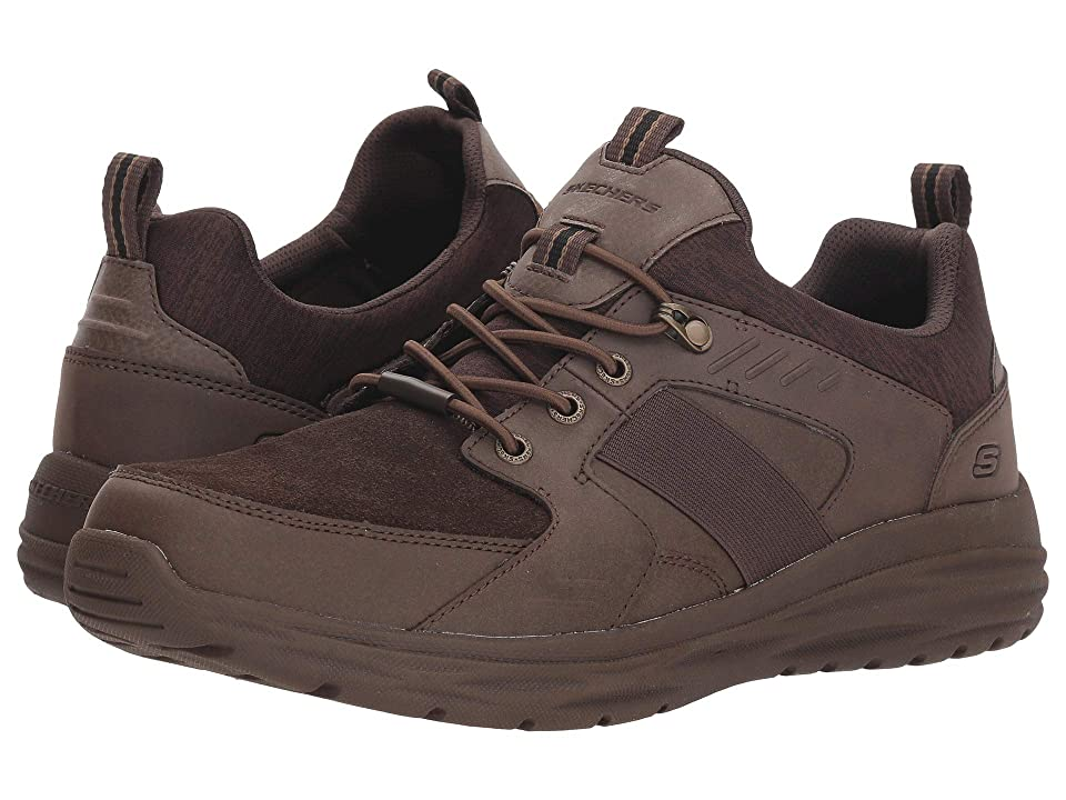 SKECHERS Harsen Arbor (Chocolate) Men