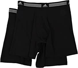 48d2217aa532 adidas Sport Performance ClimaLite 2-Pack Trunk at Zappos.com