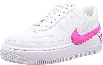 Amazon.com | Nike Women's Air Force 1 Jester XX White/Laser ...