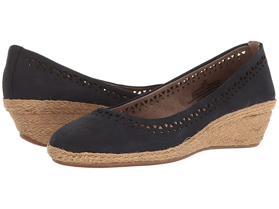 Easy Spirit Derely (Navy Nubuck) Women