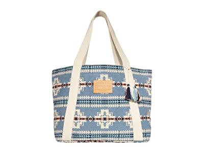 Pendleton Cotton Tote (Chief Joseph Blue) Tote Handbags