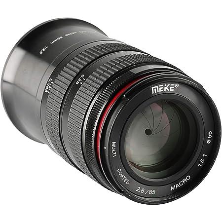 MEKE 85mm F2.8 Macro Full Frame Manual Focus Medium Telephoto Lens Compatible with Nikon Z Mount Cameras Z5 Z6 Z7 Z50