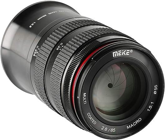 Meike 85?mm f / 2.8手動フォーカスAspherical Medium望遠フルフレームPrime縦機能をマクロレンズとNikon FマウントデジタルDSLRカメラ