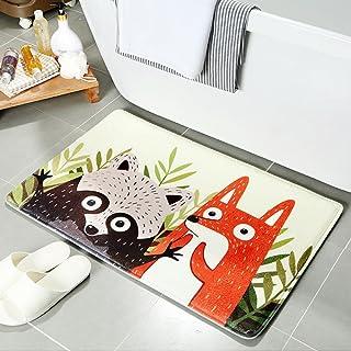 Tapetes Alfombras de Dibujos Animados Entrada Baño Cuarto de Baño Antideslizante Cocina Casera Alfombra Larga