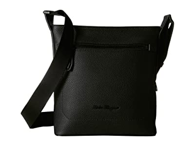 Salvatore Ferragamo Firenze Small Messenger Bag 240861 (Black) Messenger Bags