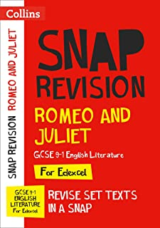 Romeo and Juliet: Edexcel GCSE 9-1 English Literature Text Guide: Ideal for Home Learning, 2021 Assessments and 2022 Exams