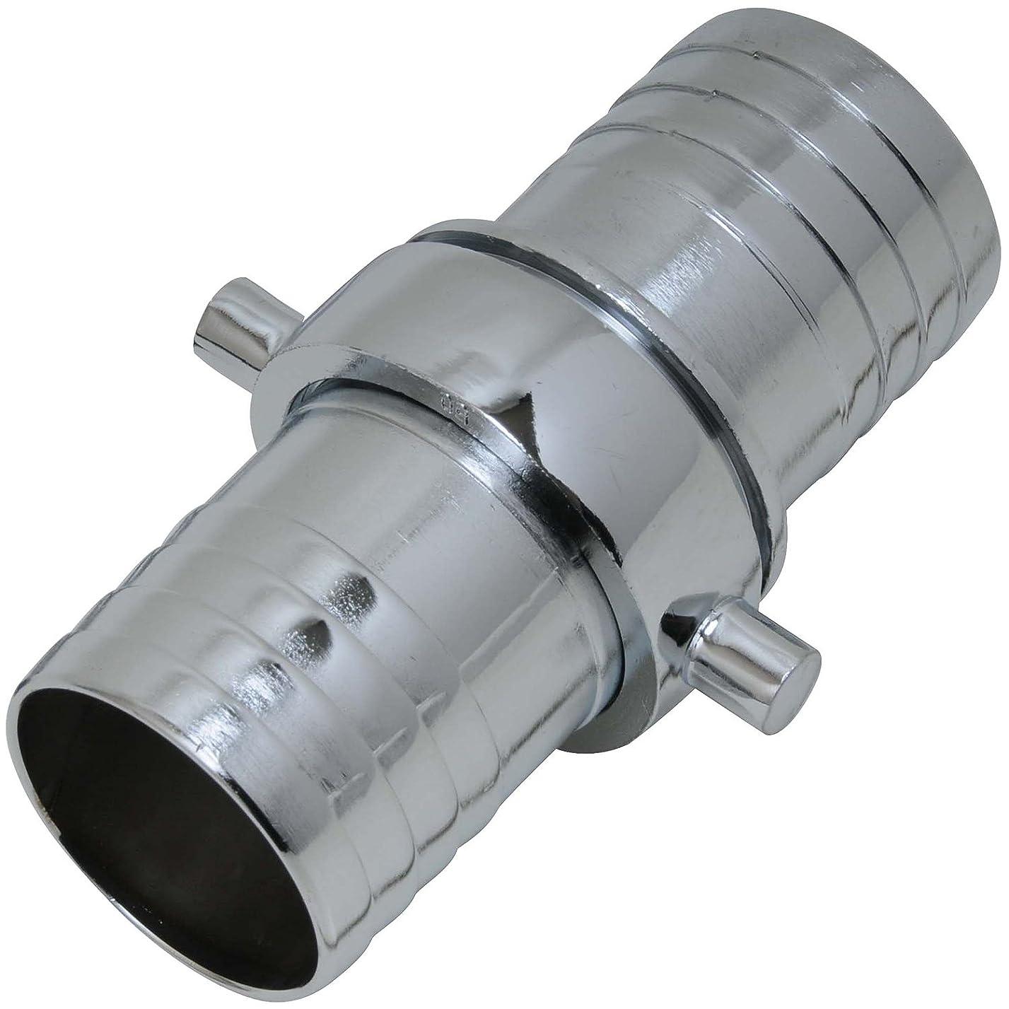 ゴール地区熱意セフティー3 ホースジョイント 金属製 50mm PE-50