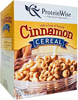 ProteinWise Healthy Diet Low Carb Low Calorie High Protein Cereal (Cinnamon)