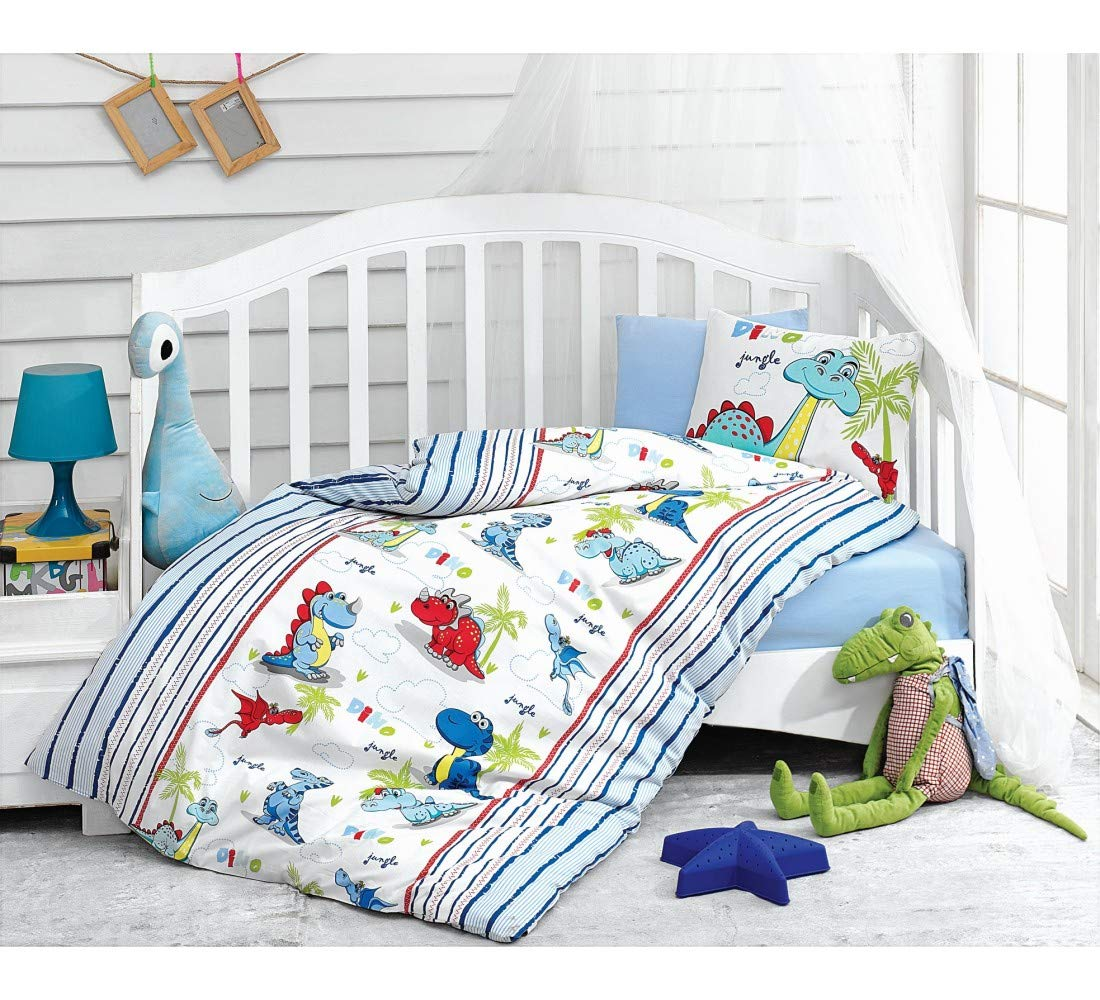 100% Cotton Baby Bedding Dinosaurs 40% OFF Sale price Cheap Sale Themed Cover Duvet Crib Set