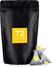 T2 Tea - New York Breakfast Black Tea, Tea Bags in a Resealable Bag, 150g (5.2oz), 60 Tea Bags