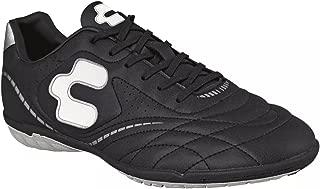 Soccer Shoes Cleats & Turf Team Sport Futbol Athletics Shoes (10.5, Black Turf)