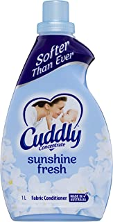 Cuddly Concentrated Fabric Conditioner, Sunshine Fresh - 1L (1 Pack)