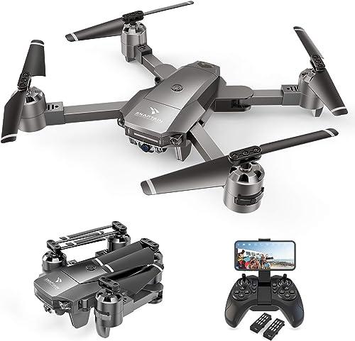 SNAPTAIN A15F Drone avec Caméra 1080P FHD 120° Grand Angle, Positionnement de Flux Optique, Fonction Suivez-Moi, Vole...