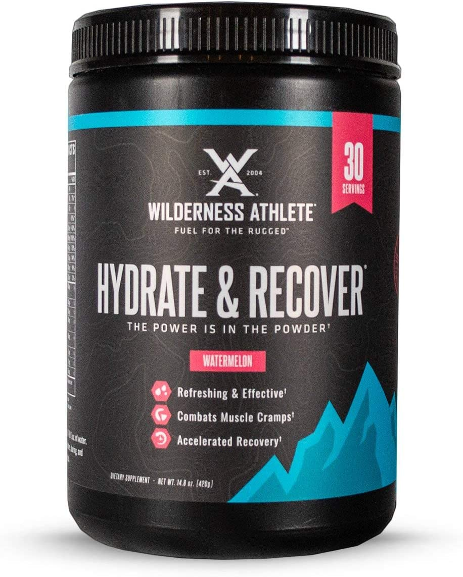 Wilderness Athlete: Branded goods Hydrate Recover Drink Miami Mall Electrolyte Powder