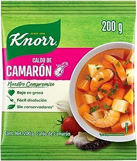 Knorr® Caldo de Camarón en polvo de 200 gramos. Sin conservadores* ni saborizantes artificiales. Ideal para cocteles, cevi...