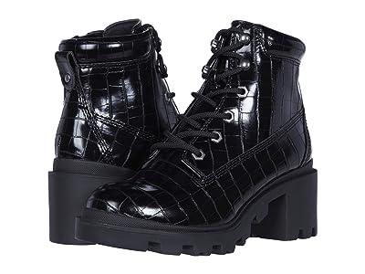 Steve Madden Kids Dillan (Little Kid/Big Kid) (Black) Girls Shoes