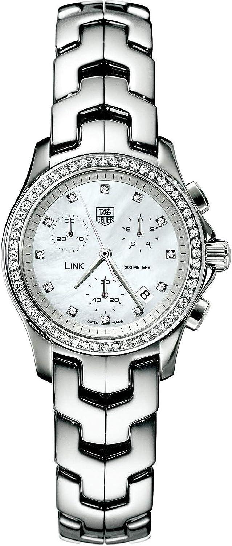 TAG Heuer Women's CJF1314.BA0580 Excellence 1 year warranty Watch Chronograph Diamond