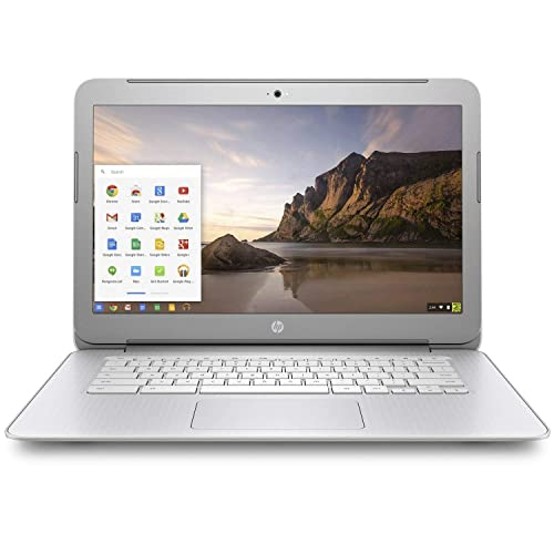 Newest HP 14-inch Chromebook HD SVA (1366 x 768) Display, Intel