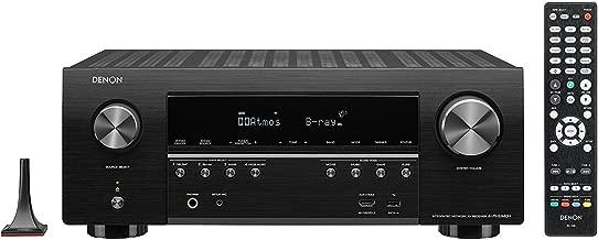 Denon AVR-S940H 7.2 Channel 90W x 7 ch AV Receiver with HEOS (Renewed)
