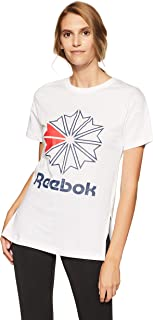Reebok Women's Plain Regular Fit T-Shirt