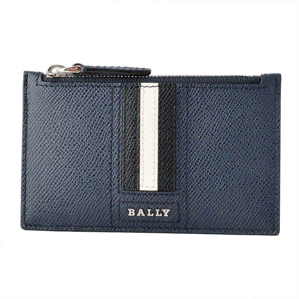 可能仕立て屋現実バリー BALLY TENLEY.LT 17 6221812 バリーストライプ 小銭入れ付 カードケース [並行輸入品]