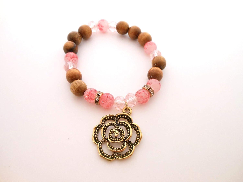 Pink 5 ☆ popular Bloom Stretch 35% OFF Bracelet