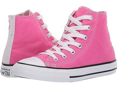 Converse Kids Chuck Taylor(r) All-Star(r) Galaxy Dust Hi (Little Kid/Big Kid) (Mod Pink/Natural Ivory/White) Girls Shoes