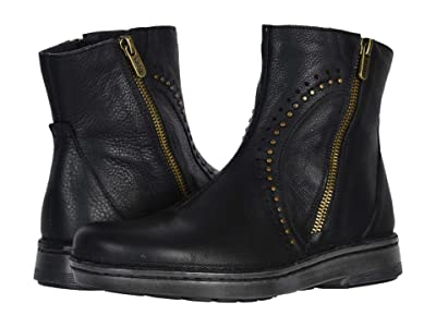 Naot Cetona (Soft Black Leather) Women