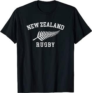 New Zealand Rugby Shirt | Maori Rugby Team | NZ Silver Fern