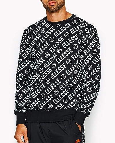 Ellesse Muro Sweat-Shirt à col Rond pour Homme