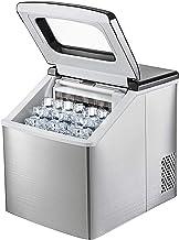 YXZQ Ice Maker الفولاذ المقاوم للصدأ 220V Ice Cube Maker Machine 18.1 رطل Ice Making Machine Countertop Ice Maker مكعبات ث...