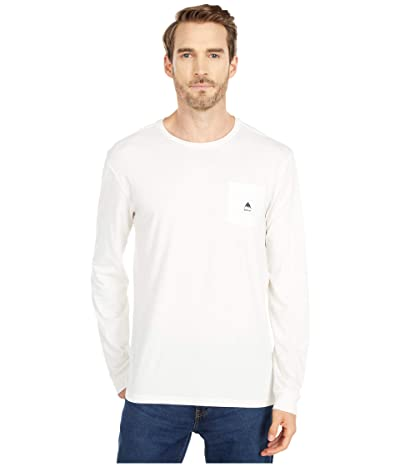 Burton Colfax Long Sleeve T-Shirt (Stout White) Clothing