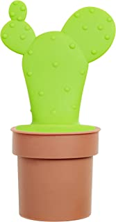 nod products Potted Cactus Shaped Tea Infuser with Holder