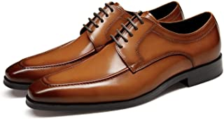 Men's Dress Shoes Genuine Leather Classic Oxford Formal...