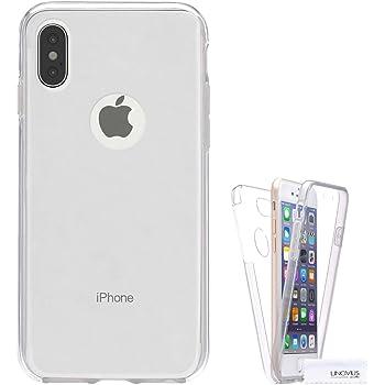 Funda Para Apple Iphone X, Carcasa TPU Full Cover 360 Compatible ...