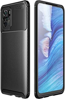 RanTuo Case for vivo V21 5G, Anti-Scratch, Soft Silicone, Shockproof, Cover for vivo V21 5G.(Black)