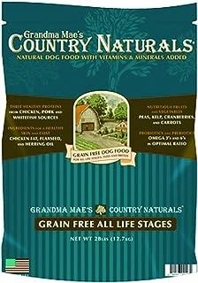 Grandma Mae'S 79700128 28 Lb Country Naturals Premium All Natural Dog Food Grain Free, One Size
