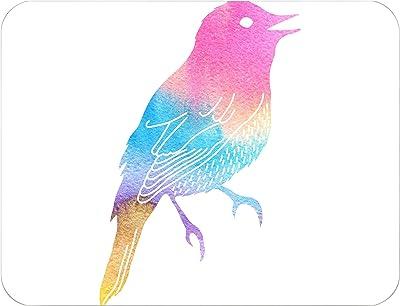 Bonamaison Tapis de Bain, Polyester, Multicolore, 65X50 Cm