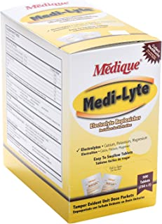 Medique Medi-Lyte Electrolyte Replacement Tablets, 2 Packs of 250 Tablets