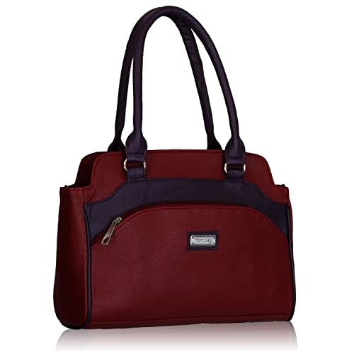 fantosy Women's Handbag (Maroon and Purple)