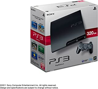 PlayStation 3 (320GB) チャコール・ブラック (CECH-3000B)【メーカー生産終了】
