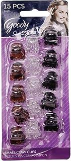 Goody 1942489 Classics Micro Mini Claw Clip, Multi-Colour ' 15 Units
