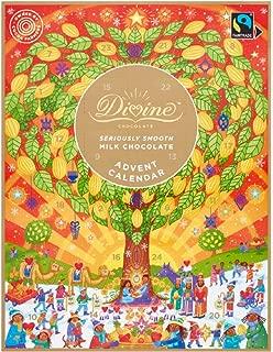Divine - Fairtrade Milk Chocolate Advent Calendar - 85g (Pack of 3)