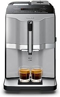 Siemens 西门子EQ.3 s300 TI303503DE全自动咖啡机(1300瓦,陶瓷?#24515;?#26426;,显?#37202;粒?#30452;选键)钛